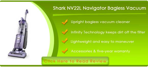 Shark NV22L Navigator Upright Bagless Vacuum Cleaner